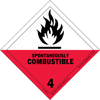 HAZMAT_Class_4-2_Spontaneously_Combustible_Solid